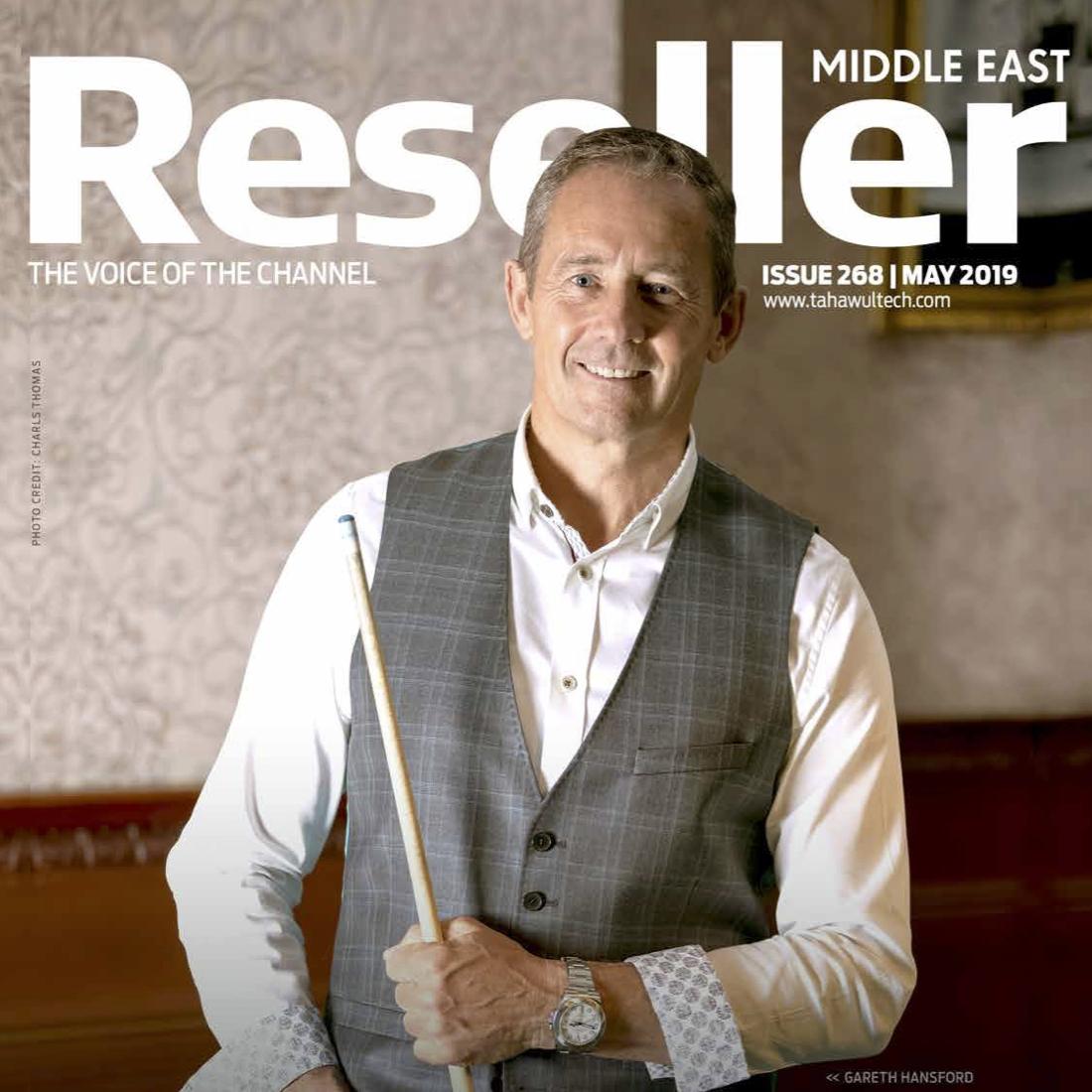 garret reseller magazine