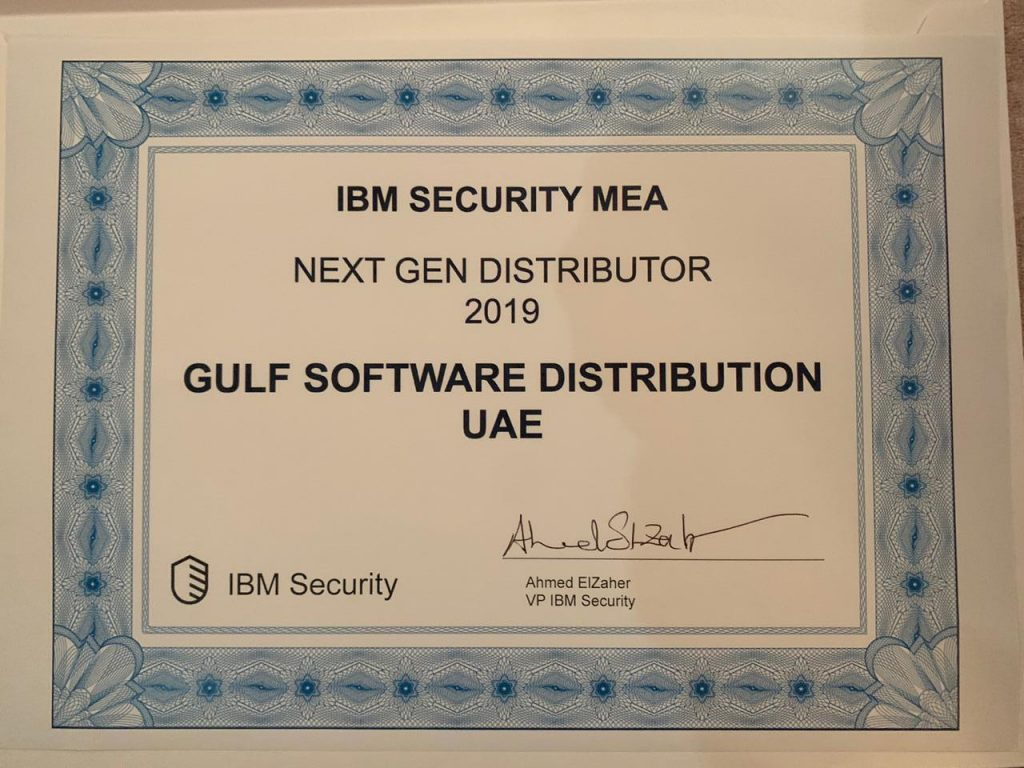 Next-Generation Distributor Award by IBM Security