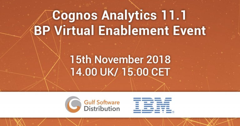 Cognos Analytics 11.1 - BP Virtual Enablement Event Facebook