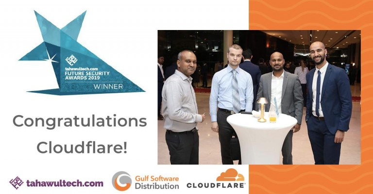 Cloudflare, Inc. awarded as Best Anti-DDoS Vendor.