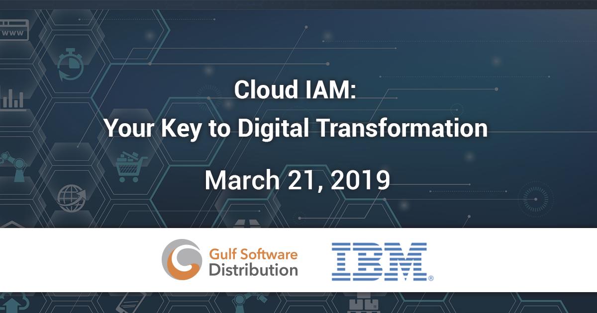 Cloud IAM- Your Key to Digital Transformation social